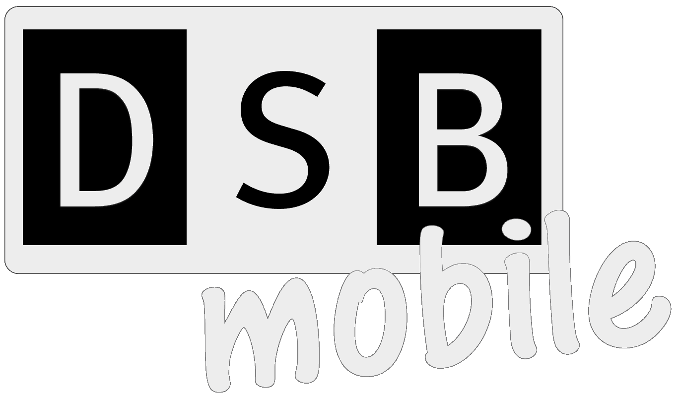 DSB mobile invers Logo